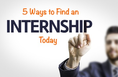 5 Ways to Find an Internship